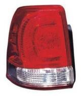 2008 - 2011 Toyota Landcruiser Tail Light Rear Lamp (Lens/Housing + On Body) - Left (Driver)