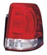 2008 - 2011 Toyota Landcruiser Tail Light Rear Lamp (Lens/Housing + On Body) - Right (Passenger)