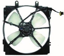 1993 - 1997 Mazda 626 Radiator Cooling Fan Assembly