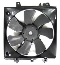 2002 - 2005 Subaru Impreza Cooling Fan Assembly (RS + TS)