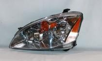 2002 - 2004 Nissan Altima Front Headlight Assembly Replacement Housing / Lens / Cover - Left (Driver)