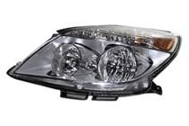 2007 Saturn Aura Front Headlight Assembly Replacement Housing / Lens / Cover - Left (Driver)