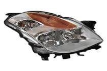 2008 - 2009 Nissan Altima Headlight Assembly (Coupe + Halogen) - Right (Passenger)