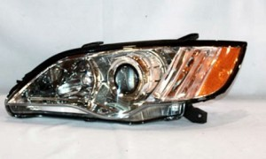 2008-2009 Subaru Outback Headlight Assembly - Left (Driver)