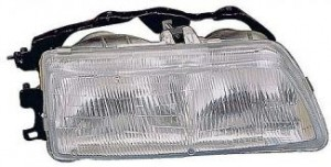 1990-1991 Honda Civic Headlight Assembly - Right (Passenger)
