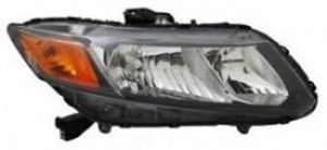 2012-2012 Honda Civic Headlight Assembly - Right (Passenger)