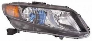 2012-2012 Honda Civic Hybrid Headlight Assembly - Right (Passenger)