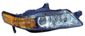 2004-2005 Acura TL Headlight Assembly (HID) - Right (Passenger)