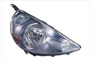 2007-2008 Honda Fit Headlight Assembly (Storm Silver) - Right (Passenger)
