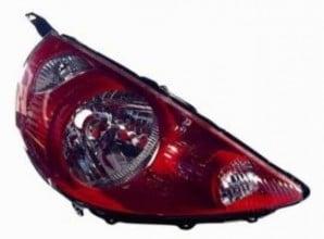 2007-2008 Honda Fit Headlight Assembly (Milano Red) - Right (Passenger)
