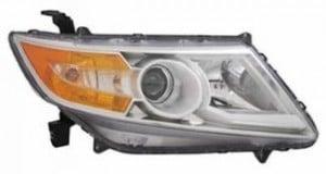 2011-2012 Honda Odyssey Headlight Assembly - Right (Passenger)