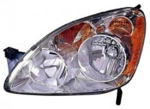 2005-2006 Honda CR-V Headlight Assembly (UK) - Left (Driver)
