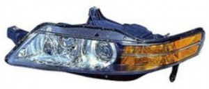 2004-2005 Acura TL Headlight Assembly (HID) - Left (Driver)