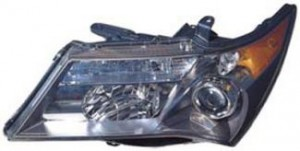 2007-2009 Acura MDX Headlight Assembly (Sport) - Left (Driver)