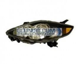 2006-2008 Mazda 5 Mazda5 Headlight Assembly - Left (Driver)