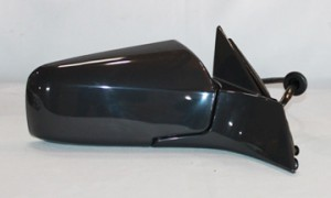 2003-2007 Cadillac CTS Side View Mirror (Power Remote / Heated / with Memory / Manual Folding) - Right (Passenger)