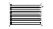 2008 - 2015 Nissan Rogue A/C (AC) Condenser