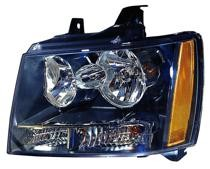 2007 - 2013 Chevrolet (Chevy) Avalanche Front Headlight Assembly Replacement Housing / Lens / Cover - Left (Driver)