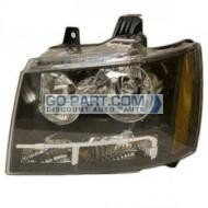 2007-2011 Chevrolet (Chevy) Tahoe Headlight Assembly - Left (Driver)