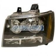 2007-2011 Chevrolet (Chevy) Suburban Headlight Assembly - Left (Driver)