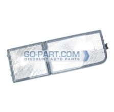 1995-1997 Volkswagen Passat Front Side Reflector (Tow Eye Reflector / without Fog Lamps) - Right (Passenger)
