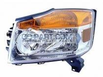 2008-2011 Nissan Armada Headlight Assembly - Left (Driver)