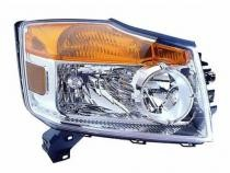 2008 - 2012 Nissan Armada Front Headlight Assembly Replacement Housing / Lens / Cover - Right (Passenger)