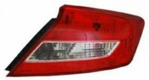 2012-2013 Honda Civic Tail Light Rear Lamp - Right (Passenger)