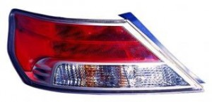 2009-2011 Acura TL Tail Light Rear Lamp - Left (Driver)