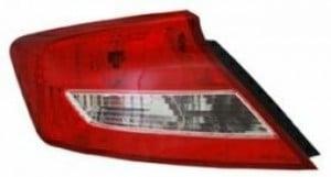 2012-2013 Honda Civic Tail Light Rear Lamp - Left (Driver)