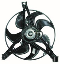 1998 Pontiac Grand Prix Condenser Cooling Fan Assembly