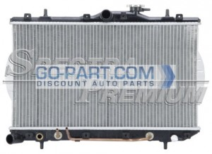 2006-2008 Hyundai Sonata Radiator (2.4L L4 / Manual)