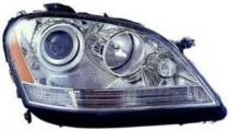2006 - 2007 Mercedes Benz ML350 Front Headlight Assembly Replacement Housing / Lens / Cover - Right (Passenger)