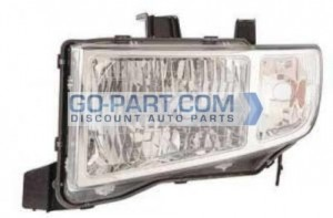 2009-2011 Honda Ridgeline Headlight Assembly - Left (Driver)