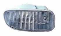 2002 - 2003 Jeep Grand Cherokee Fog Light Assembly Replacement Housing / Lens / Cover - Left (Driver)