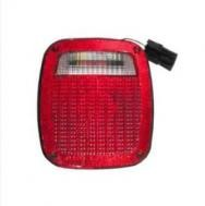 1998 - 2006 Jeep Wrangler Rear Tail Light Assembly Replacement / Lens / Cover - Right (Passenger)