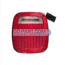 1998-2006 Jeep Wrangler Tail Light Rear Lamp - Right (Passenger)