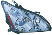 2004 - 2006 Lexus RX330 Headlight Assembly (HID Lamps + without Auto Adjustment) - Right (Passenger)