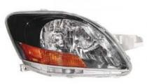 2008 - 2011 Toyota Yaris Headlight Assembly (S Model + Sedan) - Right (Passenger) Replacement