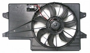 2008-2011 Ford Focus Radiator Cooling Fan Assembly