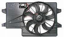 2008 - 2011 Ford Focus Radiator Cooling Fan Assembly