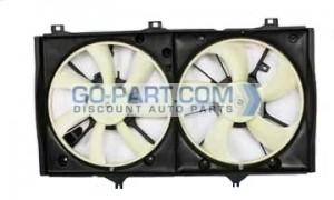 2007-2010 Toyota Camry Hybrid Radiator Cooling Fan Assembly