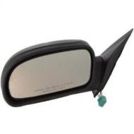 2002 - 2009 Chevrolet Chevy Trailblazer Side View Mirror (Excluding SS Model + without Signal Lamp + Power Remote + Heated) - Left (Driver)