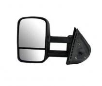 2007 - 2013 Chevrolet (Chevy) Silverado Pickup Side View Mirror (Manual) - Left (Driver)