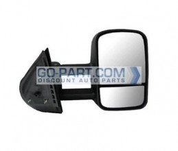 2007-2011 Chevrolet (Chevy) Silverado Pickup Side View Mirror (Manual) - Right (Passenger)