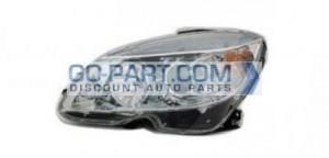2007-2007 Mercedes Benz C300 Headlight Assembly - Left (Driver)