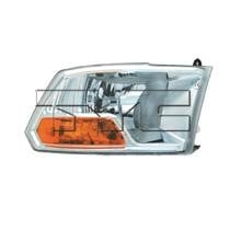 2009 - 2012 Dodge Ram (Full Size) Headlight Assembly - Right (Passenger)