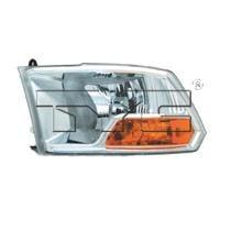 2009-2012 Dodge Ram (Full Size) Headlight Assembly - Left (Driver)