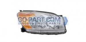 2009-2010 Toyota RAV4 Headlight Assembly (Base / Limited) - Right (Passenger)