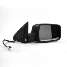 2009-2010 Dodge Ram (Full Size) Side View Mirror (R1500 / Power / Heated / with Signal Lamps / Black) - Right (Passenger)